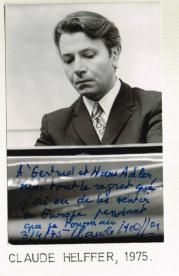 Claude Helffer, pianiste célébré et spécialiste du répertoire sérielle et post-sériel