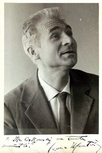 Jean Martinon, compositeur et chef d'orchestre, disparu le 1er mars 1976