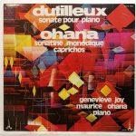 Dutilleux / Ohana 1958